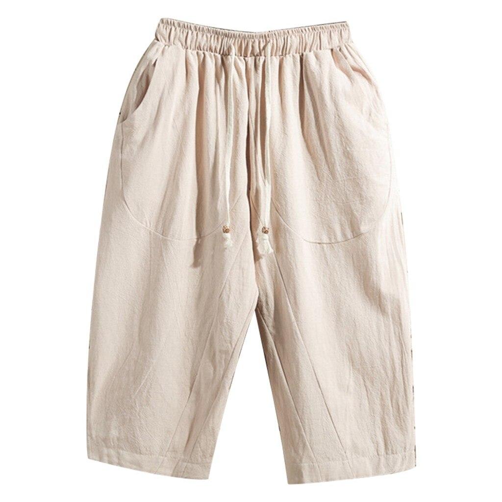 2019 New Hot Sale Men's Summer New Baita Flax Fashion Cotton Flax   Shorts   Handsome Comfortable Large   Short   Pantalons pour hommes