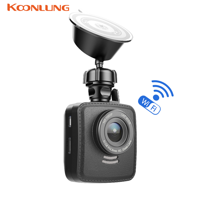 KOONLUNG Car DVR Wifi GPS Car Camera DVRS Novatek 96655 IMX322 Video Recorder DashCam Camcorder LDWS G-sensor Full HD 1080P WDR junsun wifi car dvr camera novatek 96655 imx 322 full hd 1080p dashcam video recorder for old audi a1 a3 a4 a5 a6 a7 q3 q5 q7