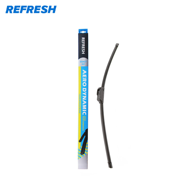 REFRESH Aerodynamic Beam Windscreen Wiper Blade Fit Hook Arm Cleaning Automotive Glasses High Performance - ( Pack of 1 )