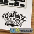 [Preto Studded Crown] Transparente Rabisco À Prova D' Água Adesivo de Vinil JDM Carro Motocicleta Bicicleta Laptop Skate Bagagem Adesivos