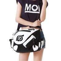 Anime Naruto Kakashi Shoulder Bag Messenger Bag teenagers Men women's Student travel School Bag Laptop Bags