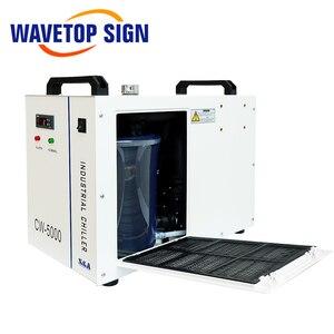 Image 4 - S & A CW5000 CW5200 CW5202 صناعة الهواء مبرد المياه ل CO2 آلة الليزر التبريد نك المغزل 80 واط 100 واط 130 واط 150 واط Co2 أنبوب الليزر