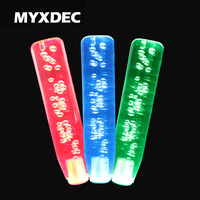 15 20 25 30 40cm LED Light Color Changing Crystal Bubble Gear Shift Knob Manual Shifter