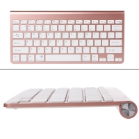 Portable Mute Keys Keyboards 2 4G Ultra Slim Wireless Keyboard Scissors Feet Keyboard For PC Laptop