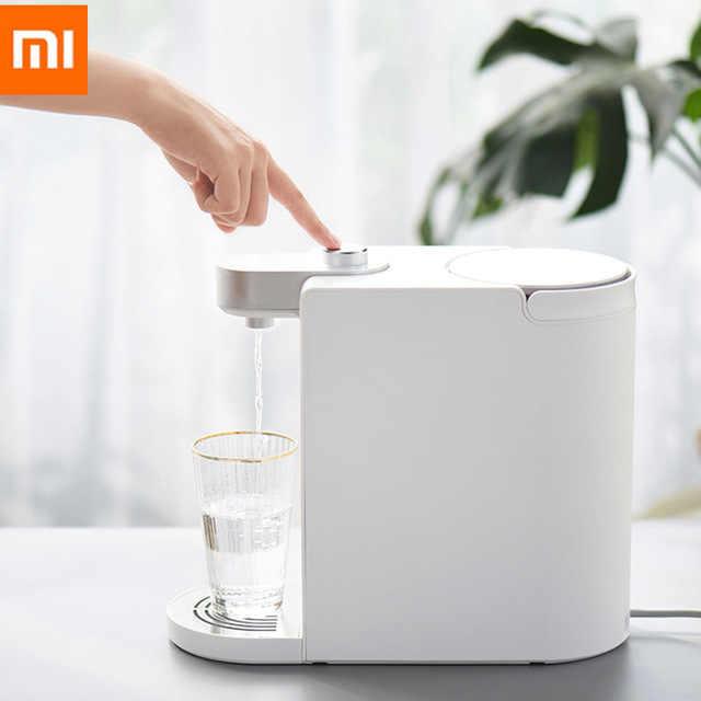 Xiaomi Youpin S2101 минималистский дизайн, почти мгновенно нагревающий воду диспенсер Smart нагрева воды кнопку в течение 3-х секунд мгновенный 1,8 Ёмкость в продаже