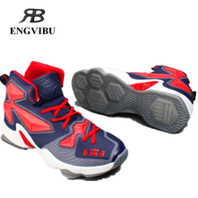 2016 New women and men basketball shoes high quality sneakers breathable athletic shoes zapatos men boots 36-45
