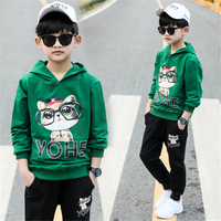 Boy Tracksuit Clothes set Kids Spring&Autumn Cotton Long Sleeve Sports Suit Boys Clothing Sets 4 6 8 10 12 years