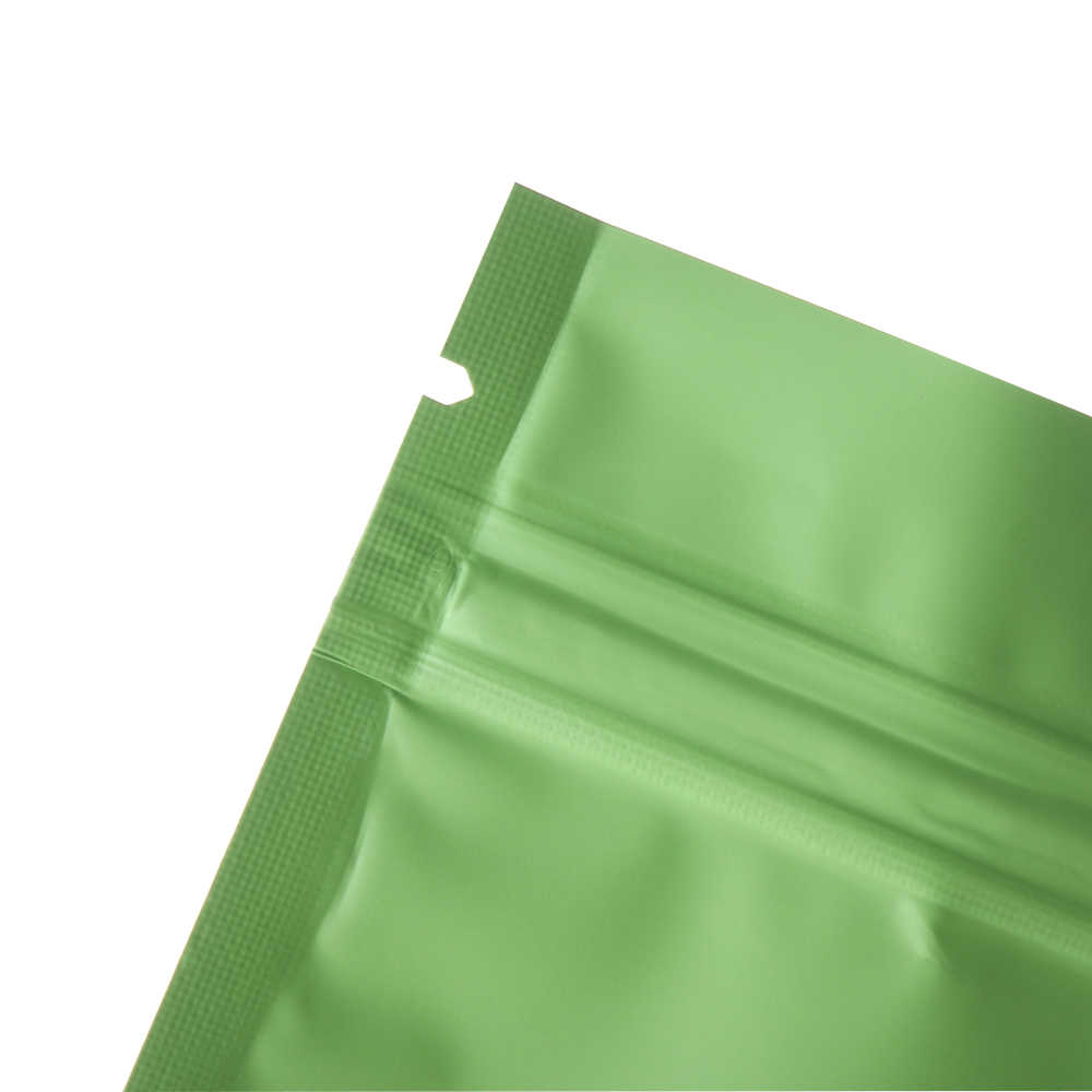 10Pcs/Pack 7.5x10cm Colorful Heat Seal Aluminum Foil Ziplock Bags Flat Zip Lock Retail Package Bag Plastic Foil Zip Bags Gifts