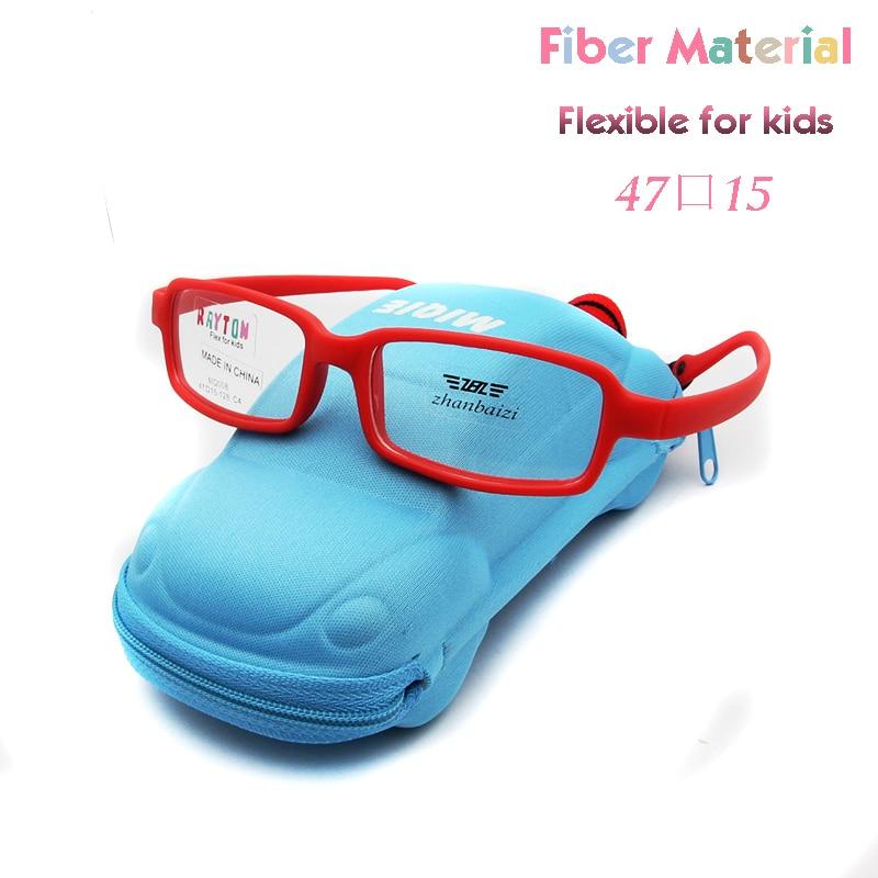 2019 New Style Light Weight Carbon Fiber Kid Eyeglasses Boy Girls Flexible No Screw Children Optical Frame Prescription Glasses Oculos Traveling Men's Eyewear Frames