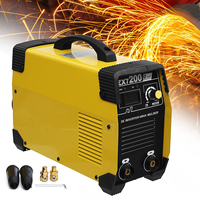 New ZX7 200 220V Portable MMA IGBT Welding Machine DC Inverter 20 200A Mini Digital Air Cooling Electric Soldering Welding Tool