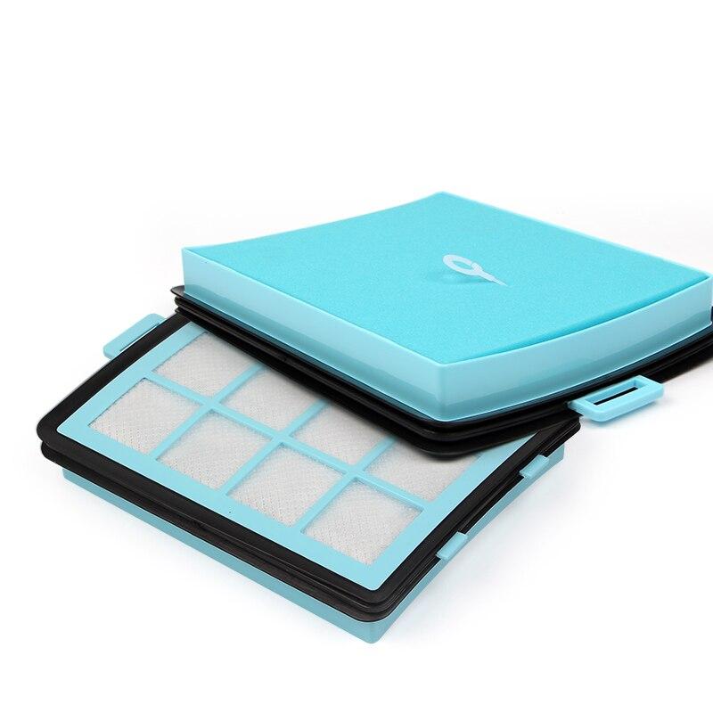 1 шт. 170*145*27 мм синий hepa фильтр для пылесоса аксессуары и части фильтра FC87
