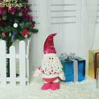 Hot Sale Christmas Dimensional Cartoon Telescopic Dolls Festival Decor Tools Home Room Ornaments Tree Decorations