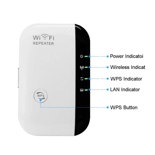WiFi Repeater Signal Amplifier 802.11N/B/G 5