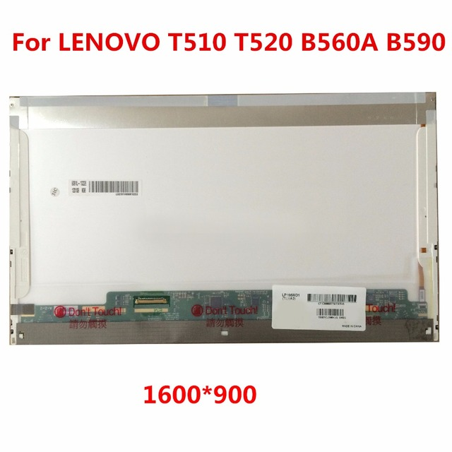15.6 Матрица ноутбука СВЕТОДИОДНЫЙ экран для Lenovo G500 505 560 580 510 585 580 E530 E520 Y550 Y570 B590 Y500 LP156WD1-TLA1 LTN156KT02