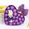 New-20pcs-Rose-Soap-Flowers-Bear-Soap-Flower-Gift-Box-4