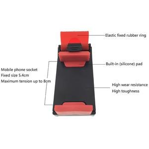 Image 5 - Soporte de teléfono para coche, Clip de montaje para bicicleta, para iPhone 7 Plus, Samsung S9 Plus, 8 9 Xiaomi, carga