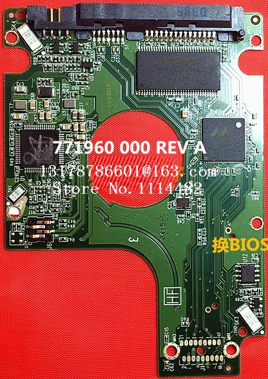 PCB Borad 2060-771960-000 REV A P2 For WD 2.5 SATA Hard Drive Repair Data Recovery 2060-771960-000