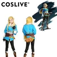 Coslive The Legend of Zelda Breath of the Wild Princess Zelda Hot Game Costume Cosplay Outfit Carnival Halloween Anime Cosplay