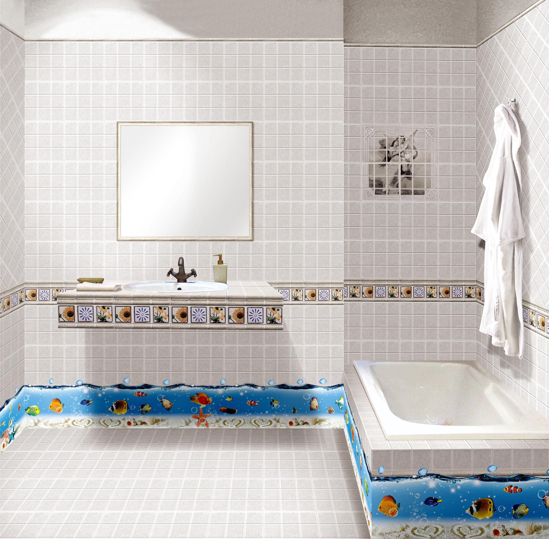 Tropical Fish Bathroom Decor - Home Decorating Ideas