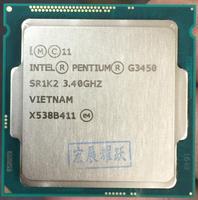 Intel Processor G3450 CPU LGA1150 22 nanometers Dual Core 100% working properly Desktop Processor
