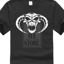 Short Sleeve Discount 100 % Cotton MenS Funny Fashion Masters Hardcore Skull Novelty Cool Tee Shirt