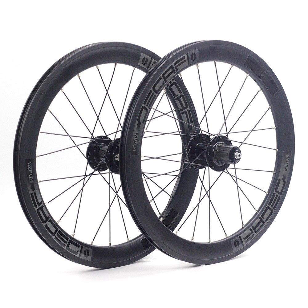 "JAVA Decaf 20"" 406 451 22"" Alloy Mini Velo Wheelset Disc Brake 40mm Width 100mm 135mm Folding Bike Minivelo Wheels Rim|wheel rim|folding bike wheels|disc wheelset - title="
