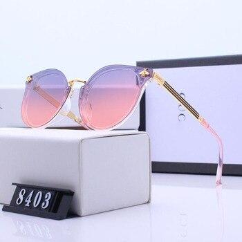 aaa5fcd689 Gafas de sol polarizadas para amantes de la policía de marca de lujo  polarizadas Polaroid Goggle gafas de verano cómodas de alta calidad para  mujeres
