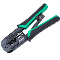 ProsKit CP 376TR 190mm Length 4P/6P/8P Telecom Crimping Tool Plastic steel Cable network crystal head crimping pliers