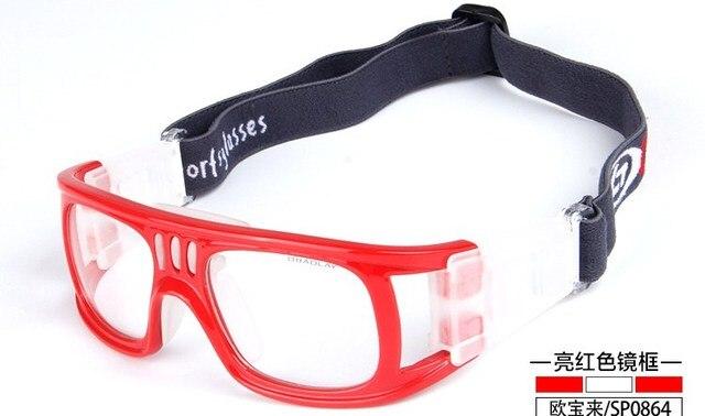 Открытый Профессиональный Баскетбол очки Футбол Спортивные очки очки рамка матч оптических линз близорукость близорукие SP0864