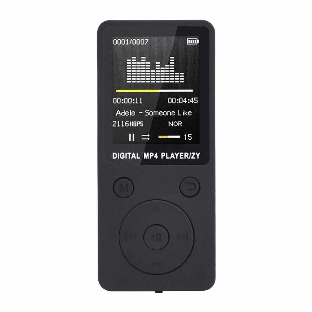 2019 moda przenośny MP4 bezstratny dźwięk odtwarzacz muzyczny rejestrator FM odtwarzacz walkman mini obsługa muzyki nagrywanie radia