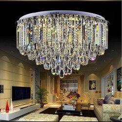 LED słodkie światła sufit kryształ koło kształt wysokość 41 cm pilot zdalnego sterowania najlepsze ceny!!! można dostosować w Oświetlenie sufitowe od Lampy i oświetlenie na