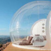 Надувная круглая палатка игрушка палатка для уличного кемпинга DIY Дом купол Кемпинг домик воздушный пузырь