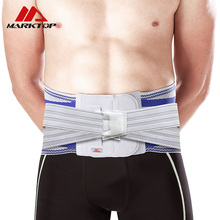 Adjustable Double Pressure Waist Protect Belt Men Women Gym Sports Fitness Running Training Waist Support Brace M9086 недорого