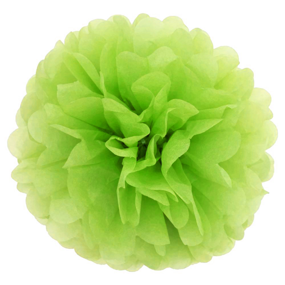 Apple decorations wedding - 15pcs 25cm 10inch Tissue Paper Wedding Party Decor Craft Paper Flower For Wedding Decoration Apple Green
