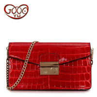 Europe And The United States Fashion Package Trend Shoulder Oblique Cross Hand Bag Leather Python Pattern