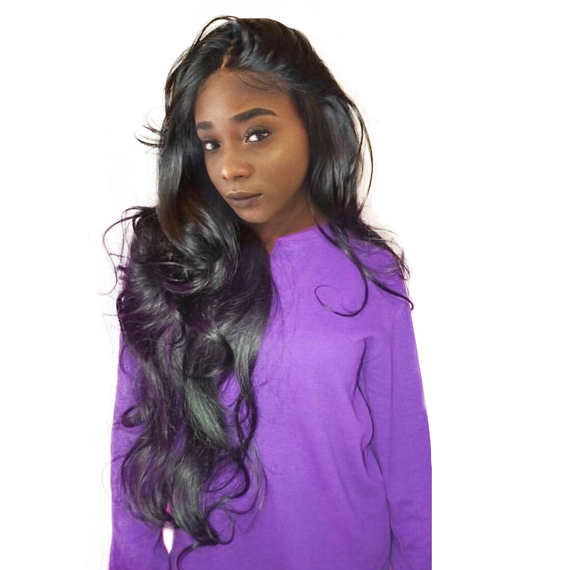 Body Wave 130% Density Lace Front Human Hair Wigs for Black Women Brazilian Remy Hair With Baby Hair Honey Queen