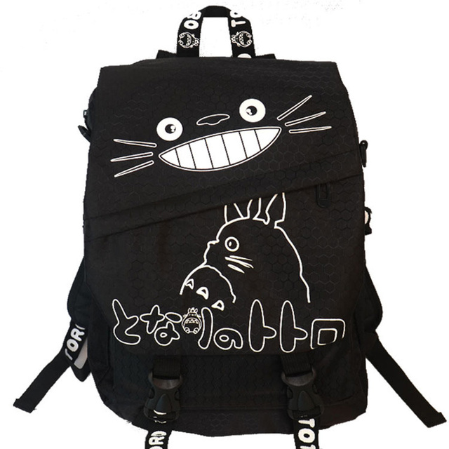 Totoro Printed Backpack