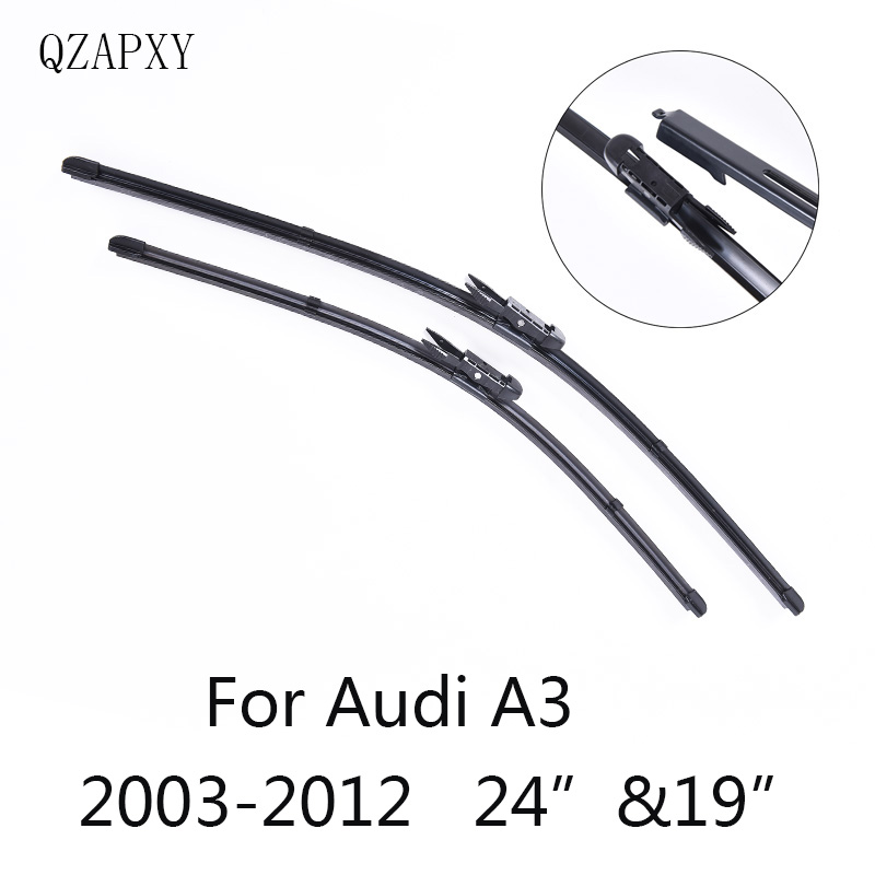 QZAPXY Car Windshield Wiper Blades for Audi A3 24