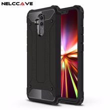 Luxury Rugged Soft Cover For Huawei Mate 20 Lite 20 Pro Anti Knock Phone Case Hybrid Hard Tough Dual Layer Armor Shockproof Case все цены