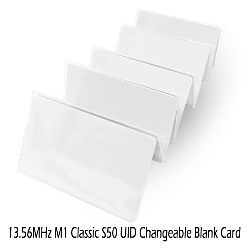 UID Changeable IC Card 1k 13.56MHz With Writable 0 Sector 0 Block HF ISO14443A