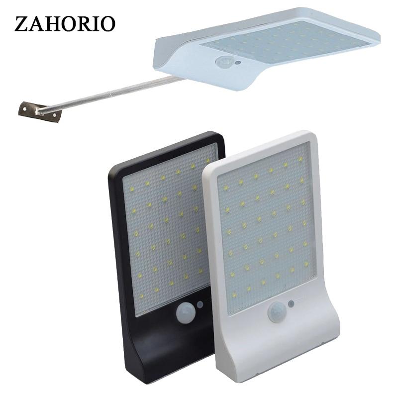 Solar Outdoor Light Of Garden LED Street Light Sensor Foco Solar Power Lamp Waterproof Garden Security Spotlight Free Shipping