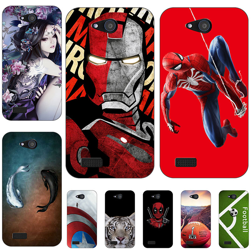 45 styles Silicone Mobile Phone Case For ZTE Blade