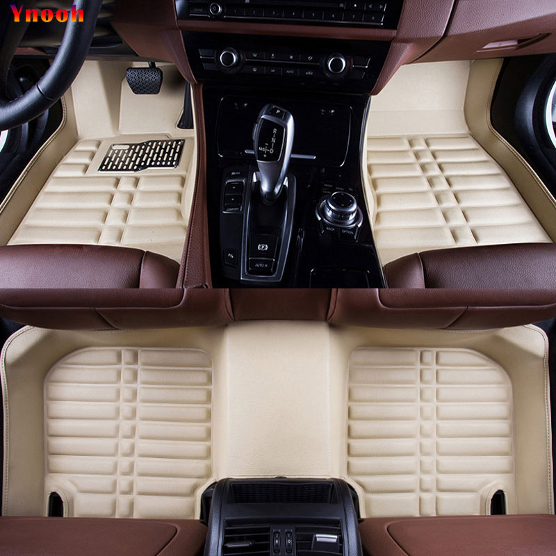 все цены на Ynooh car floor mats For fiat 500x bravo palio albea freemont grande punto panda stilo car accessories онлайн