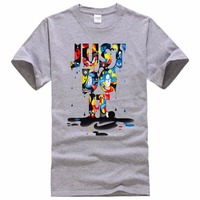 2017 New Fashion Just Do It T Shirt Brand Clothing Hip Hop Letter Print Men T