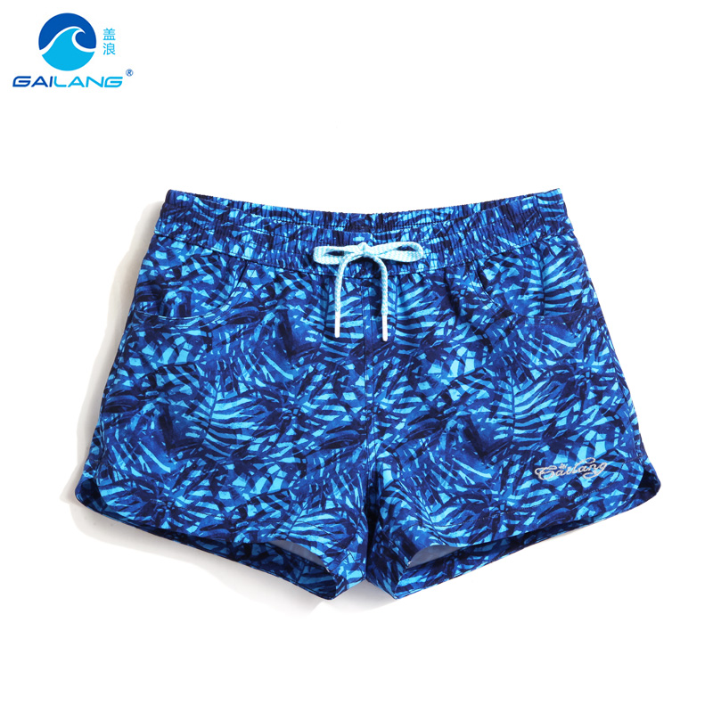 Gailang Swim   Shorts   Women's Swimming Suit Sport Swimwear Quality Beach Swimsuit   Board     Shorts   For Women Swimming   Shorts   GWA1008