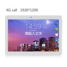 "10.1 ""4G caja de Metal Teléfono Tablet android tablet PC Octa Core RAM 4 GB ROM 32 GB 1920X1200 IPS Dual sim Llamada tarjeta de Android 7.0 GPS"
