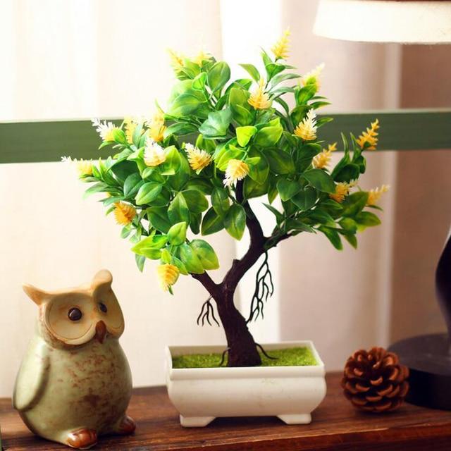 Pflanzen Fürs Wohnzimmer künstliche bonsai kaufen die schönsten einrichtungsideen