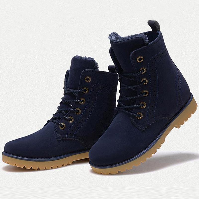 2016 font b Women b font snow Boots fashion Retro Autumn Winter font b women b