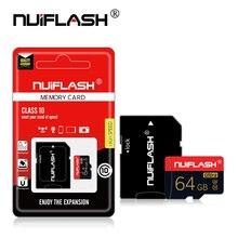 การ์ดหน่วยความจำขนาดใหญ่ 128GB 64GB 32GB 16GB 8GB MicroSDXC/SDHC Class 10 Mini TF Trans Flash Micro Sd Card