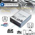 Envío libre del USB SD AUX MP3 Adaptador de música para Honda Civic CRV Accord Acura CSX MDX RDX Interfaz, Simple instalación. partes de automóviles